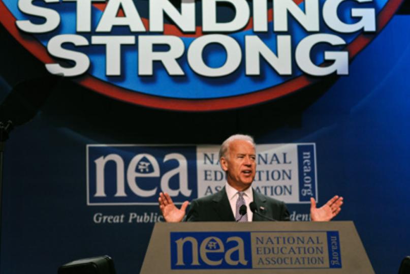 Joe Biden is in the Pocket of the Teacher Unions