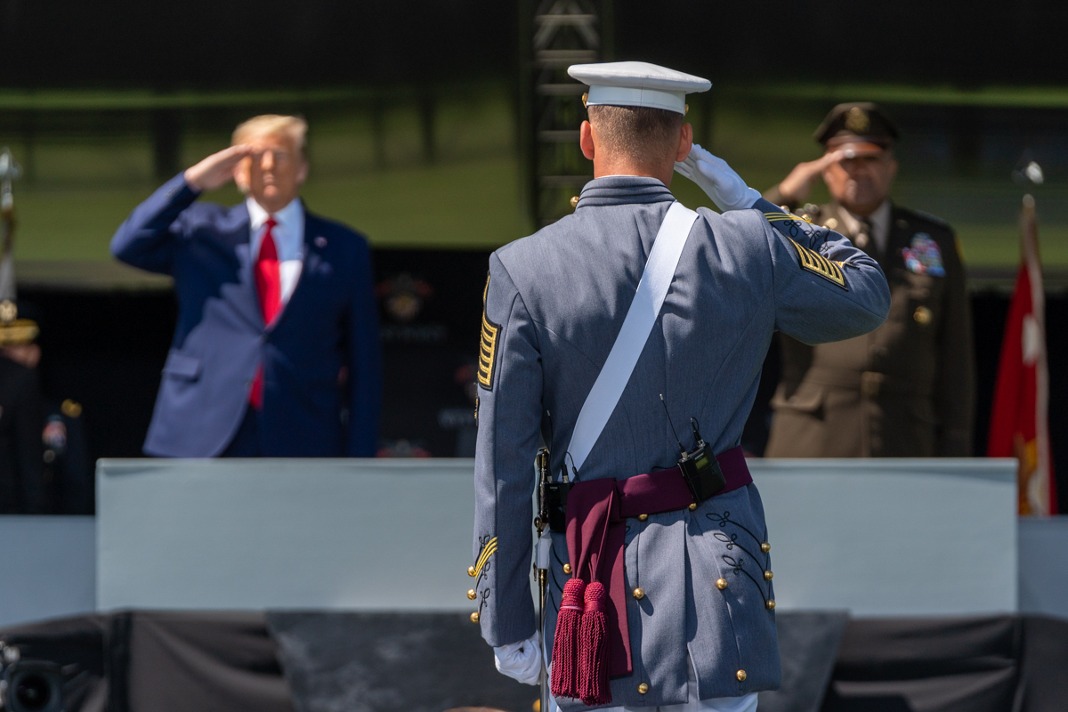 President Trump Supports our U.S. Military